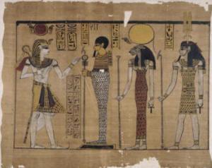 Papiro Harris rappresentazione del regno di Ramesse III