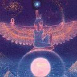Iside meditazione lunare