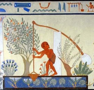 Contadino nell'antico Egitto